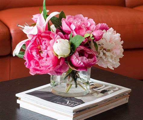 centrotavola con fiori finti centrotavola fai da te con i fiori finti foto 26 40