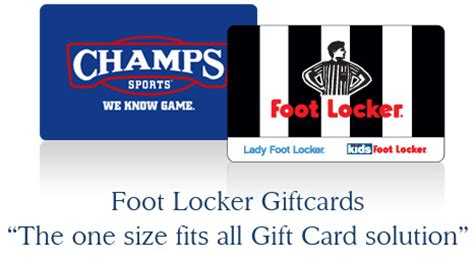 Foot Locker Gift Card - where can i use footlocker gift card lamoureph blog