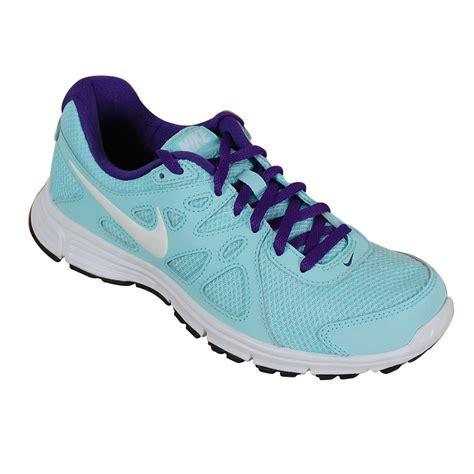light blue nike nike s revolution 3 running trainers light blue