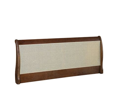 Rattan Headboards Beds by Newquay Sleigh Rattan Headboard