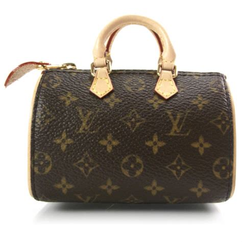 louis vuitton monogram iconic mini speedy bag charm