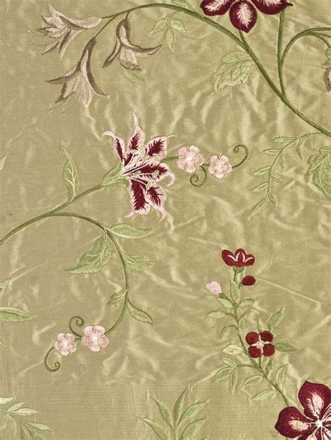 embroidered silk drapery fabric embroidered silk drapery fabric embroidered silk curtain