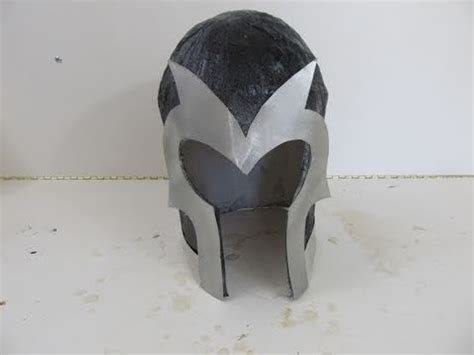 How To Make A Paper Helmet - make a magneto helmet
