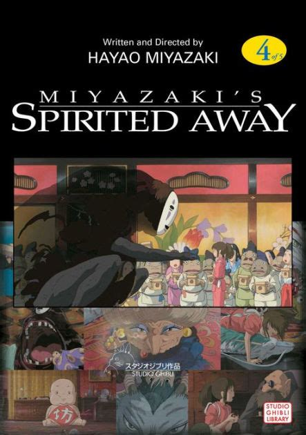 biography of hayao miyazaki book spirited away volume 4 by hayao miyazaki paperback