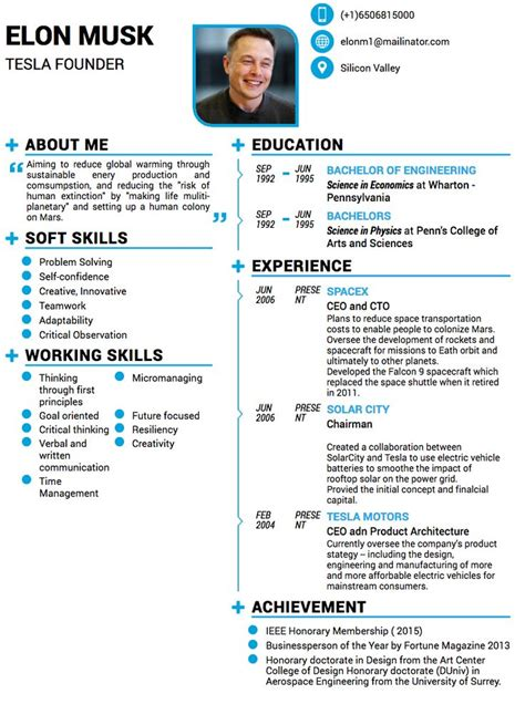 Sample General Resume Objective by Elon Musk Resume This Resume For Elon Musk Proves You