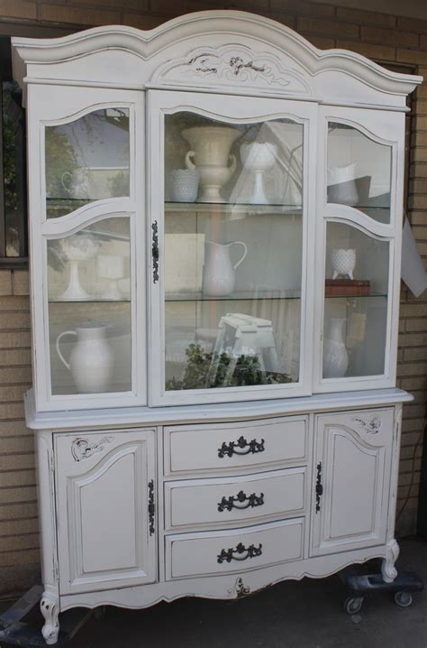 thrift store china cabinet thrift store china hutch makeover furniture i ve created