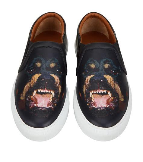 givenchy rottweiler shoes givenchy rottweiler skate shoe in black for lyst