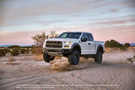 2017 f150 raptor 2017 ford f 150 raptor touts being the ultimate high