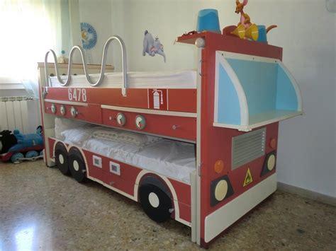 letto camion pompieri immagine 1 26 il letto camion dei pompieri