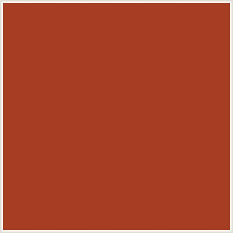 cognac color a63c21 hex color rgb 166 60 33 cognac orange