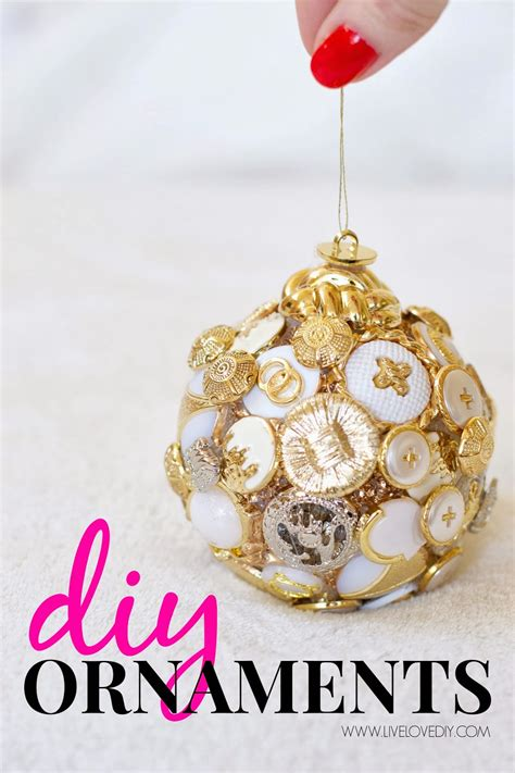 diy ornament livelovediy diy ornament ideas