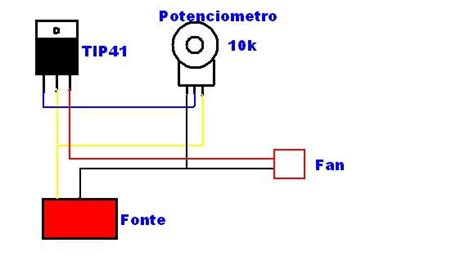 resistor 10k onde encontrar resolvido controlador de fan eletr 244 nica clube do