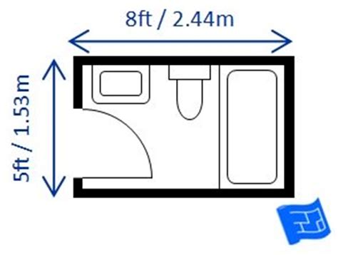 Average Square Footage Of A 3 Bedroom Apartment bathroom dimensions