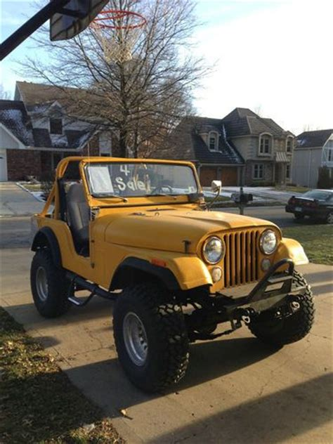 Ramsey Jeep Service Sell Used 1971 Lifted Jeep Cj5 With Ramsey 8000 Lb Winch