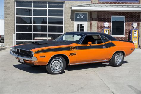1970 Challenger T A 340 Six Pack 4 Speed Correct Go Mango