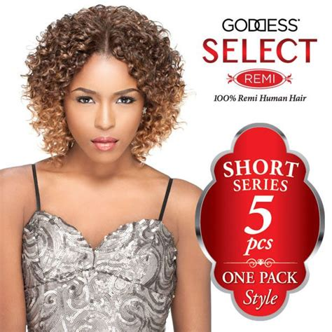 styles for one pack of weave sensationnel goddess select 100 remi human hair weaving