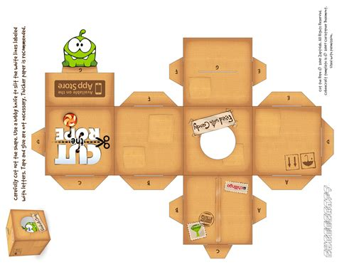 Cut The Rope Papercraft - dr theda s crypt our most popular posts