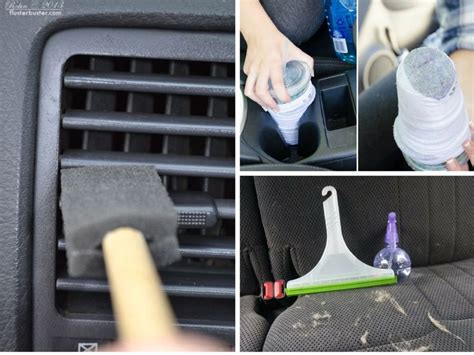 Car Interior Hacks by 17 Best Ideas About Car Interior Cleaning On
