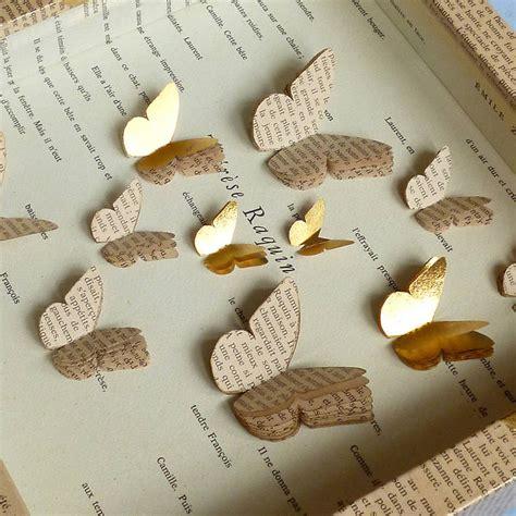 Handmade Paper Butterfly - handmade paper butterfly artwork by artstuff