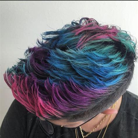 mens magenda colored hair best 25 men hair color ideas on pinterest hair color