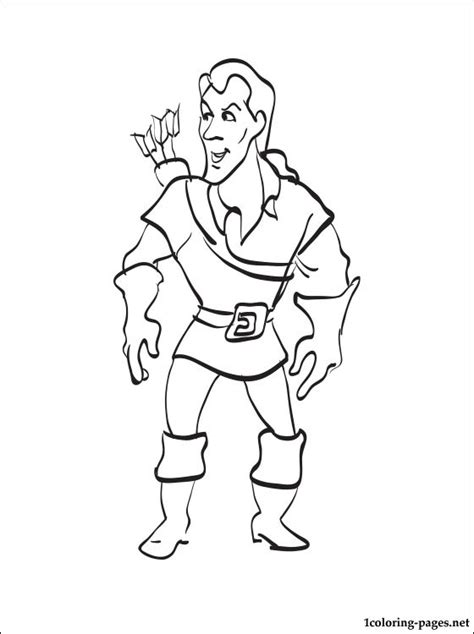 beauty and the beast coloring pages gaston gaston coloring page from beauty and the beast coloring