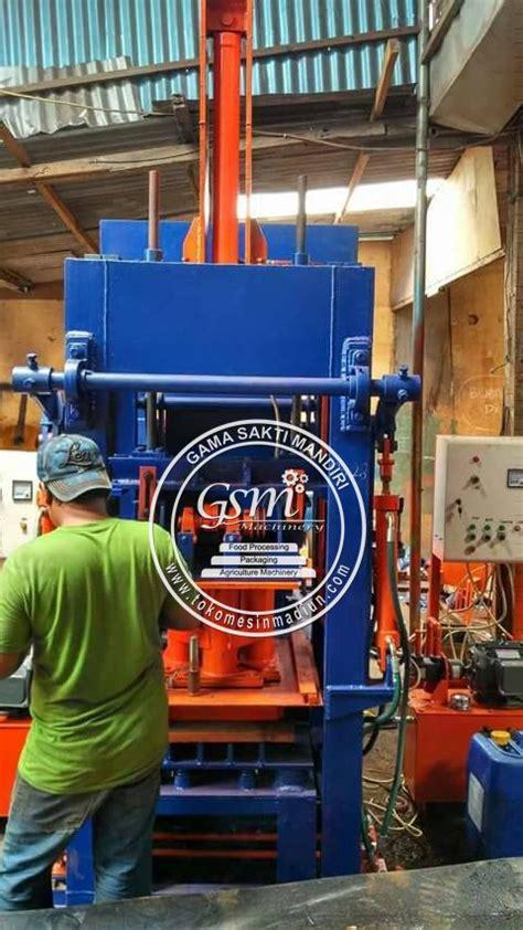 Harga Cetakan Batako Hidrolik mesin cetak batako paving hidrolik toko alat mesin usaha