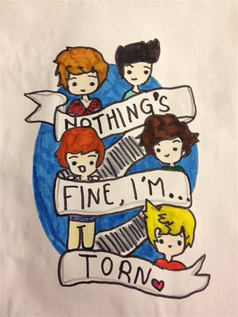 doodle one direction one direction torn doodle by niallersmyfav on deviantart