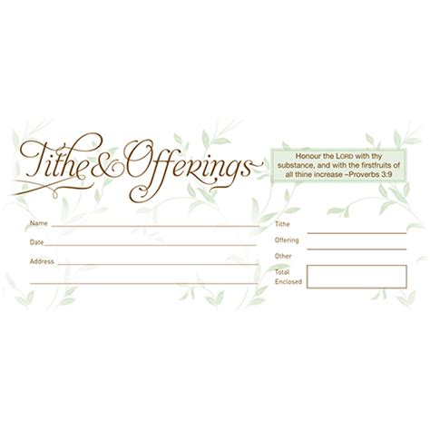 church offering envelope template tithe envelopes