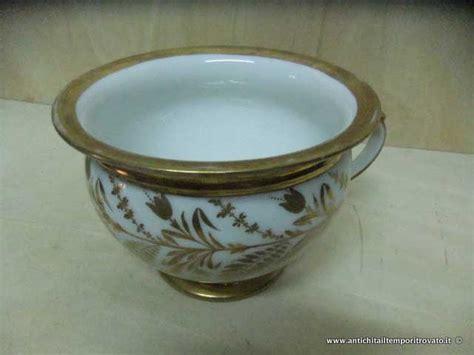 vasi da notte antichit 224 il tempo ritrovato antiquariato e restauro