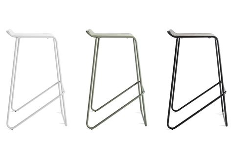blu dot bar stool blu dot ready stacking stool hivemodern com