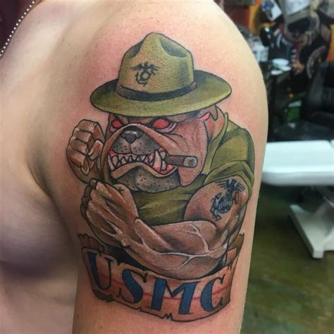 marine corps tattoo 75 cool usmc tattoos meaning policy and designs 2018