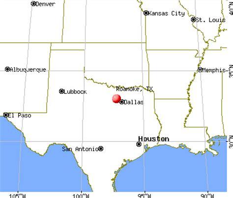 roanoke texas map roanoke texas