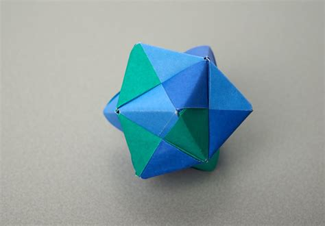 Stellated Octahedron Origami - folding challenges maths org