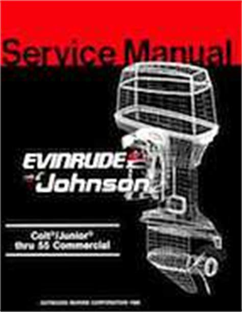 1987 Johnson Evinrude Quot Cd Quot Colt Junior Thru 55 Commercial