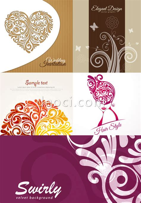 birthday card template adobe illustrator free 5 vector decorative patterns wedding greeting
