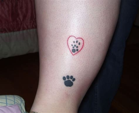 tattoo with printer paw print tattoos designs ideas and meaning tattoos for you