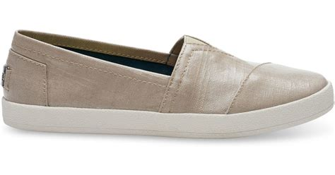 toms oxford shoes toms oxford patent linen s avalon slip ons in