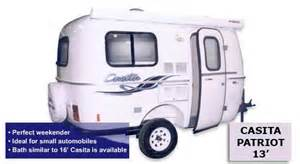 smallest cer with bathroom small c trailer plans casita small travel trailer rv