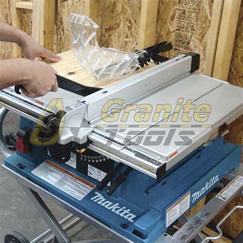 makita 10 table saw makita 10 quot table saw 2705 table saws usa granite tools
