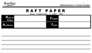 raft writing template raft3602 6 raft exles and support