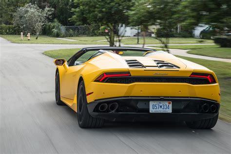Lamborghini Huracans 2016 Lamborghini Hurac 225 N Lp 610 4 Spyder Drive Review