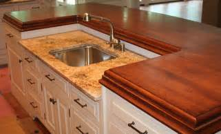 Wood Countertops Kitchen Cherry Wood Countertops For A Kitchen Island Philadelphia Pa