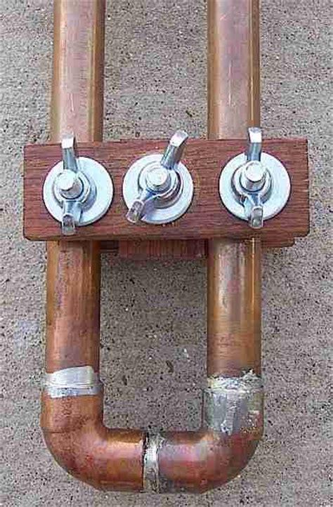 2 meter slim jim copper tubing antenna by ke5fxu ham radio ham radio ham copper tubing