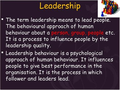 Leadership For Mba Students by Leadership Ppt For Mba Students