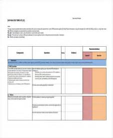 gap analysis template 16 gap analysis template free sle exle format