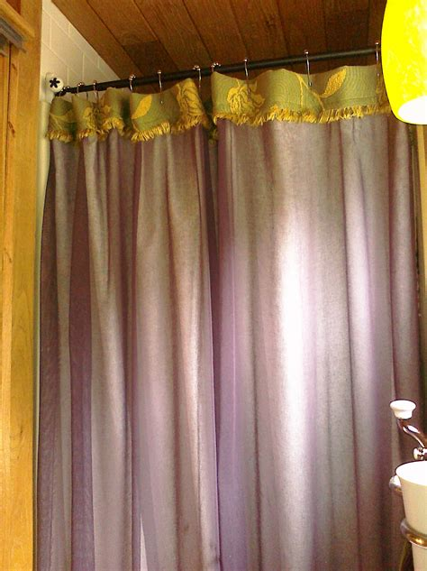 Handmade Shower Curtains - shower curtain dilemma tiny house family