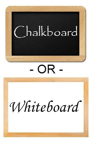 chalkboard paint vs whiteboard is a chalkboard the right choice stonehouse signs