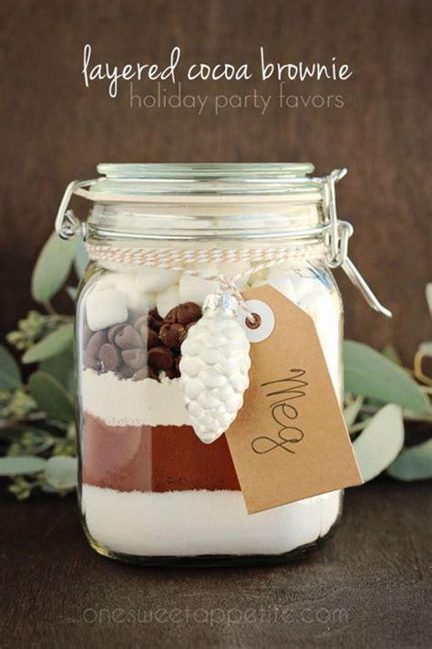 layered cocoa brownie jars recipe seasons jars and sweet