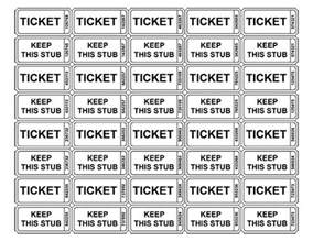 Ticket Printing Template by 25 Best Ideas About Raffle Tickets On Baby