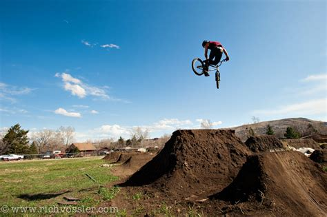 backyard bmx jumps bmx dirt jumps rich vossler photography
